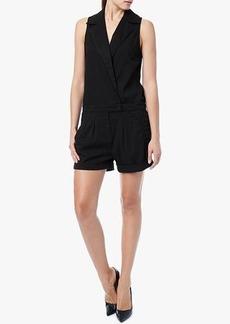 Short Romper in Black