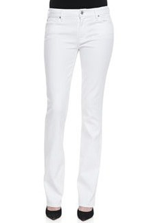 Skinny Bootcut Jeans, Clean White   Skinny Bootcut Jeans, Clean White