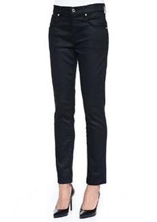 Slick Relaxed Skinny Jeans, Black   Slick Relaxed Skinny Jeans, Black