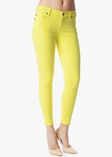 "Slim Illusion Ankle Skinny in Blazing Yellow (28"" Inseam)"