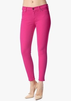 "Slim Illusion Ankle Skinny in Paradise Pink (28"" Inseam)"