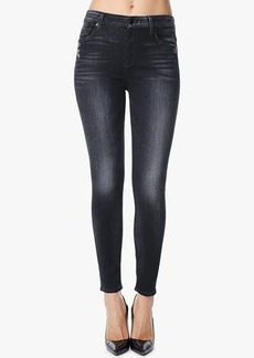 "Slim Illusion High Waist Ankle Skinny in Storm Black (28"" Inseam)"