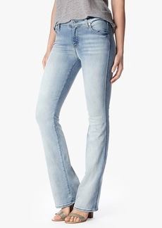 Slim Illusion Kimmie Bootcut in Bright Ice Blue