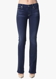 Slim Illusion LUXE: The Skinny Bootcut w/Contour Waistband in Night Blue