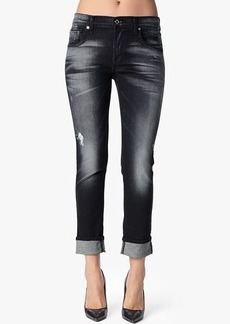 Slim Illusion Relaxed Skinny in Ultimate Icy Black
