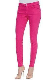 Slim Illusion Skinny Jeans, Hot Pink   Slim Illusion Skinny Jeans, Hot Pink