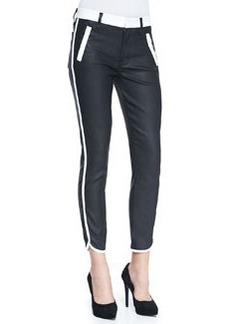 Sportif Cropped Coated Skinny Jeans   Sportif Cropped Coated Skinny Jeans