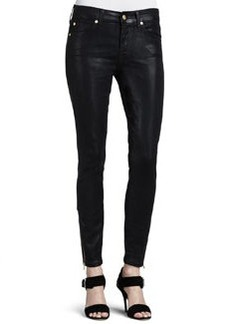 The Cropped Skinny Coated Jeans   The Cropped Skinny Coated Jeans