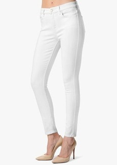 """The High Waist Ankle Skinny in White Fashion (28"""" inseam)"""