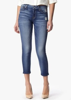 """The Kimmie Crop in Distressed Authentic Light (26"""" Inseam)"""