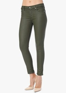 """The Mid Rise Ankle Skinny in Olive Jeather (28"""" Inseam)"""