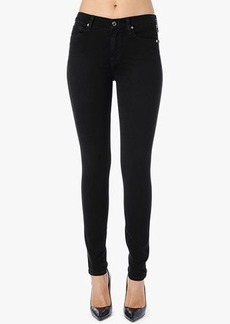 The Mid Rise Skinny in Black
