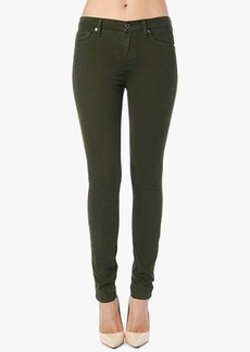 The Mid Rise Skinny in Hunter Green