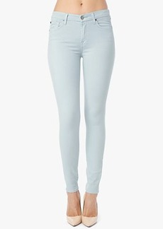 The Mid Rise Skinny in Ice Blue
