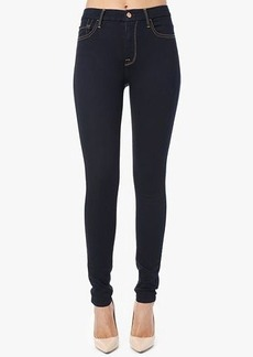 The Second Skin Slim Illusion Super High Waist Skinny in Midnight Rinse