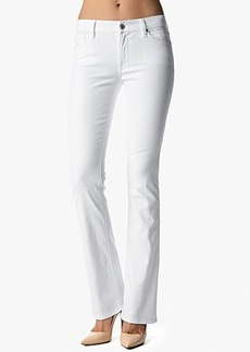 The Skinny Bootcut in Clean White