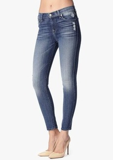"The Slim Illusion Ankle Skinny in Aggressive Atlas Blue (28"" Inseam)"