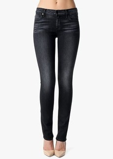 The Slim Illusion Modern Straight in Washed Black