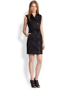 Burberry Brit Elisabeth Trenchcoat Dress