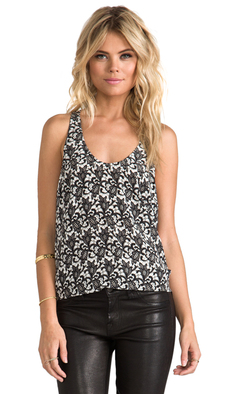 Joie Drew C Tank in Black