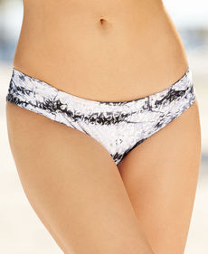 Lucky Brand Animal-Print Tie-Dye Hipster Bikini Bottom
