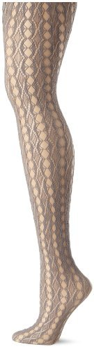 Hue Women's Linear Diamond Net Tights