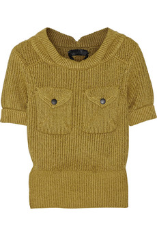 Burberry Prorsum Cotton-blend sweater