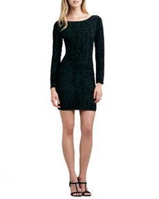 Tabitha Fitted Velvet Dress   Tabitha Fitted Velvet Dress