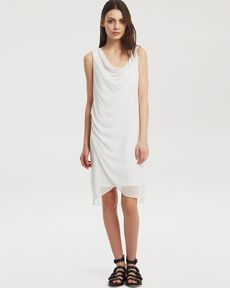 Kenneth Cole New York Cecilea Sleeveless Drape Dress