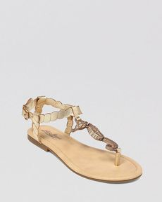 Lucky Brand Flat Thong Sandals - C Horse Animal