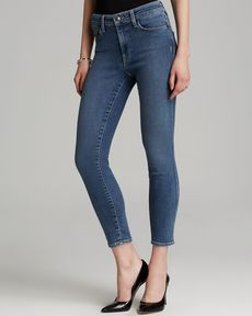 GENETIC Jeans - Loren Slim High Rise Crop in Fusion