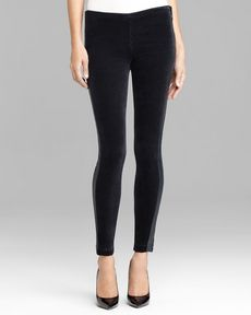 Genetic Denim Jeans - Lennox Velvet Skinny in Black