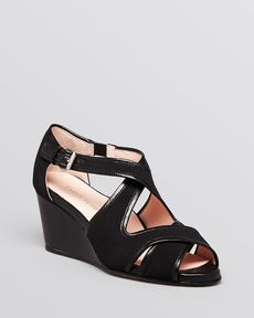 Taryn Rose Platform Wedge Sandals - Kinza