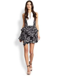 Robert Rodriguez Marbled Warrior Skirt