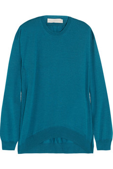 Stella McCartney Fine-knit wool-blend sweater