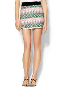 MILLY Ribbon Mini Skirt