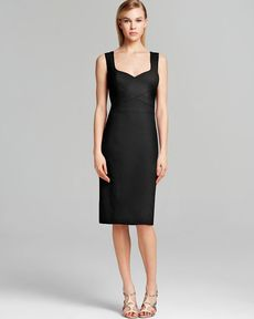 Laundry by Shelli Segal Dress - Sleeveless Crepe Sheath