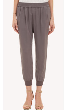 Joie Cropped Pull-On Pants