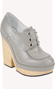 Jil Sander Lace-Up Platform Booties