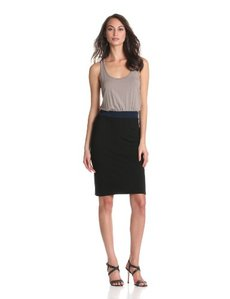 Michael Stars Women's Bette Racer-Back Dress