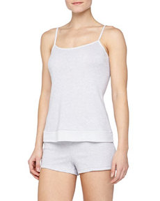 Pointelle Soft Lounge Camisole, Gray   Pointelle Soft Lounge Camisole, Gray