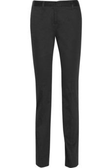 M Missoni Cotton-blend straight-leg pants