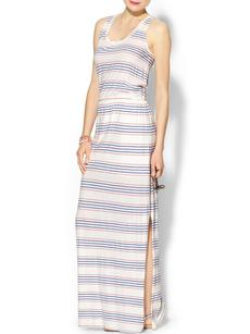 Splendid Stripe Maxi Dress