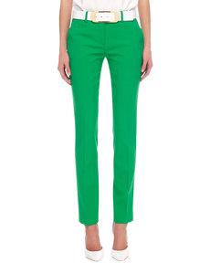 Michael Kors Samantha Slim Pants, Palm