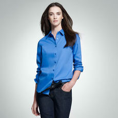 No-Iron Easy-Care Relaxed Fit Shirt (Petite)