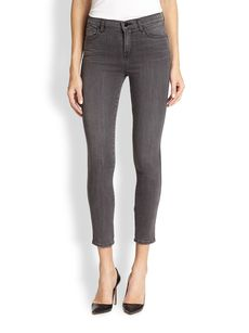 J Brand Photo-Ready Bree Cropped Skinny Jeans