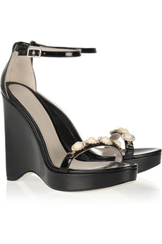 Jason Wu Embellished wedge sandals
