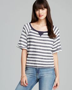 C&C California Top - Stripe Crop