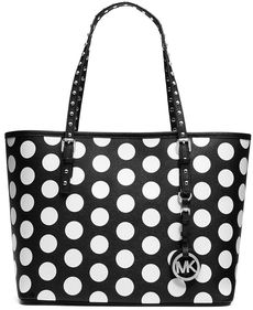 MICHAEL Michael Kors Jet Set Small Travel Dot Tote