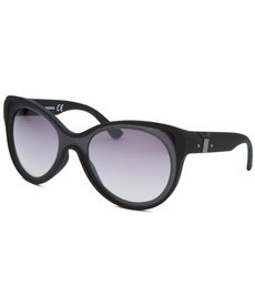 Diesel Women's Cat Eye Black Sunglasses
